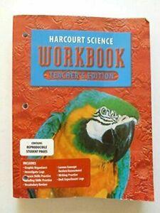 Harcourt Science Workbook, Grade 4, Teacher Edition