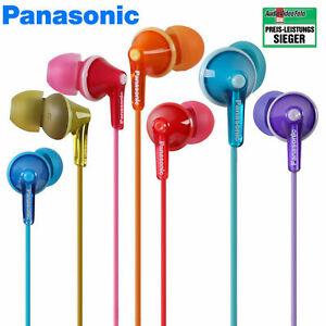 Panasonic BW Ohrkanalhörer RP-HJE125 Ohrhörer Kopfhörer Musik In-Ear-Hörer Sport