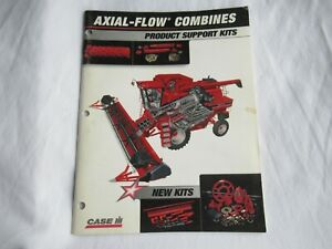 CASEIH Case axial-flow 1400 1600 2100 2300 combines product support kit brochure