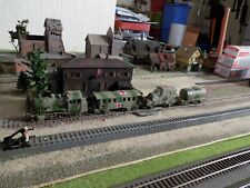 MARKLIN - Märklin, WWII MILITARY STEAM ENGINE 89028 WITH THREE WAGONS, SCALE HO