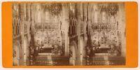Basilique Da Pesanti Foto Viron Stereo PL56L2n Vintage Albumina c1880