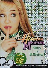 HANNAH MONTANA OLTRE I RIFLETTORI - DVD (NUOVO SIGILLATO) SLIPCASE