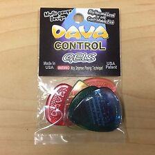 Dava Control GELS Multi-Color Guitar Picks 5/Bag  (D8508)
