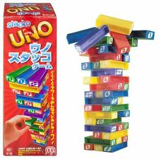 Uno STACKO The Standing Block Game With an UNO Twist 43535