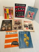THE BEATLES Vintage Sheet Music Song Books Guitar Hits LOT
