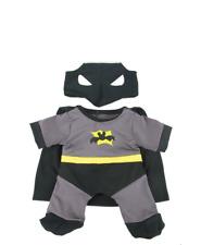 """Batman Batbear Batboy Teddy Bear clothes outfit fit 14"""" - 18"""" build a bear"""