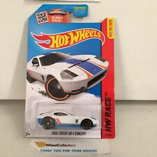 Ford Shelby GR-1 Concept #178 * WHITE * 2015 Hot Wheels * E2