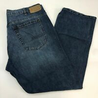 Calvin Klein Jeans Mens 40 Blue Bootcut Leg Regular Fit 100% Cotton Medium Wash