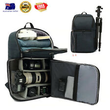 Waterproof DSLR SLR Camera Bag Backpack With Charging Earphone Hole Outdoor New