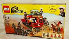 SEALED 79108 LEGO Lone Ranger Disney movie STAGECOACH ESCAPE 279 pc RETIRED set