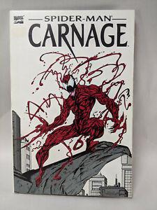 SPIDER-MAN CARNAGE TPB  (Marvel, 1993) 1st Print  VENOM 1993 Graphic Novel