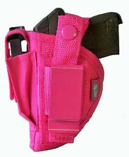 NEW Pink Nylon Hip Gun Holster For Ruger LCP 380