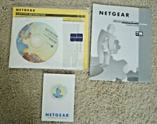 Netgear Model MA401/MA301 Ver2 Wireless Network Card CD and Instructions ONLY
