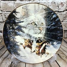 The Bradford Exchange Twice Traveled Trail Touching The Spirit Porcelain Plate
