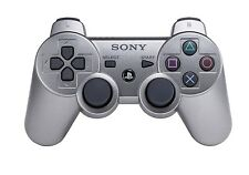 New Wireless Dualshock 3 Silver Gamepad Controller for Sony Playstation PS3