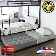 Walker Edison Twin Roll-Out Trundle Bed Frame (AZT40TBBL)