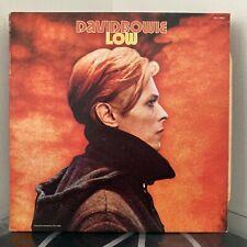 DAVID BOWIE Low LP 1980 RCA US BLACK LABEL PRESS VG / EX