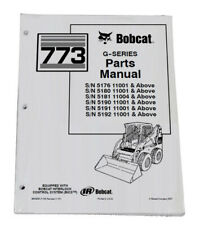 Bobcat 773 G Series Skid Steer Parts Catalog Manual Part Number 6900939