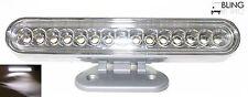 LED Accent Light Bar Adjustable White DRL Daytime Running Driving Trailer Truck