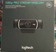 Logitech Pro C2920 1080p Stream Webcam - Black