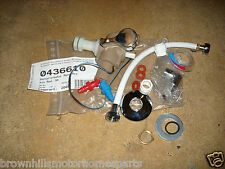 HYMER SHOWER MIXER TAP WITH HOSE & MICROSWITCH BEIGE