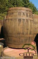 Oak Wooden Barrel Ex Whiskey 55gallon keg beer cider wine