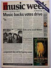 MUSIC WEEK MAGAZINE    JANUARY 20 1996   EIGHTIES REVIVAL   LS
