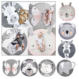 "Newborn Baby Round Carpet Floor Rug Kids Children Room Nordic Decor 85/33.5"""