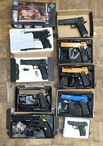10x softair-pistole Ersatzteile Metall Und ABS Softair Spring Komplett Set #1