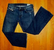 DIESEL INDUSTRY Jeans ZATHAN 0071S GREEN Pockets Button Fly ITALY Men 31 x 30 11