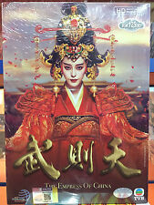 DVD Chinese Drama THE EMPRESS OF CHINA 武則天 Eps 1-75END All region FREE SHIP