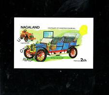 Nagaland - Centenary of Churchill - Mini Souvenir Sheet CTO 7/8/74  10 off