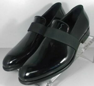 242255 SPi60 Men's Shoes Size 9 M Black Leather Made in Italy Johnston & Murphy