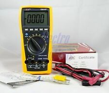 HTC DM97 Digital Multimeter 4000 Counts with Capacitance Frequency Test DM 97