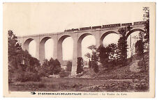 CPA 87 - SAINT GERMAIN LES BELLES FILLES (Haute Vienne) - Le Viaduc du Crou