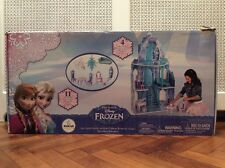 BNIB Disney's Frozen Elsa wooden ice palace playset princess castle dollhouse