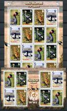 Gambia 2006 WWF Kraniche Vögel Birds Uccelli Oiseaux Kleinbögen Postfrisch MNH