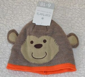 Carter's NWT Infant Hat and Mitten Set size 6 to 18 months - FREE SHIPPING -Cute