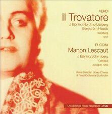 Jussi Bjoerling: Verdi- Il Trovatore / Puccini- Manon Lescaut (Excerpts) (Royal