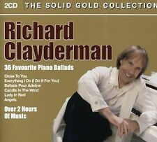 RICHARD CLAYDERMAN - 36 FAVOURITE PIANO BALLADS (NEW CD)