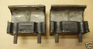 55 56 57 FAIRLANE FORD  8 CYLINDER ENGINE MOTOR MOUNTS  PAIR