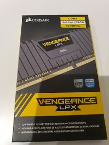 2 x Corsair Vengeance LPX 32GB (2 x 16GB) 3200mhz