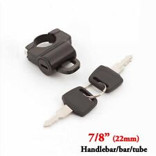 7/8'' Motorcycle Black Helmet Lock For Honda Gold Wing GL 1100 1200 1500 1800
