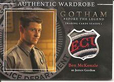 Gotham Season 1 Before the Legend James Gordon Patch Costume Card #M06