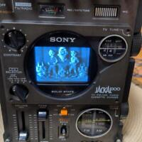 SONY FX-300 JACKAL TV & Radio & Cassette Tape Working Tested OK Boombox Rare