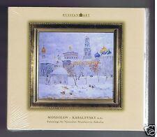 RUSSIAN ART 2 CDS SET NEW MOSSOLOV/ KABALEVSKY/ SCHNITTKE/ KARAYEV/ ZAVOD
