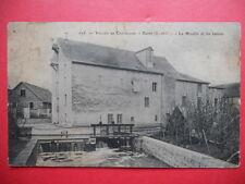 BURES  :  Le Moulin et les Vannes..