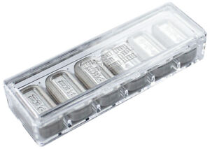 Pamp Suisse 6 X 5 Gram .9999 Fine Silver PEZ Wafer Bar Refill Pack