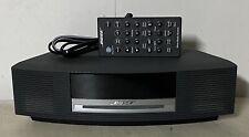 Bose Wave Music System AWRCC1 AM/FM/Stereo/CD Player AUX Clock Alarm - Graphite