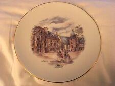 Porcelaine France De Limoges Collectors Plate Blois
